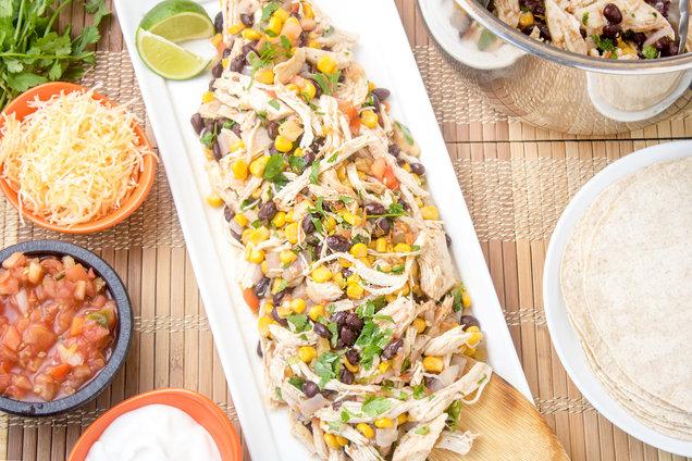Hungry Girl's Healthy Instant Pot Burrito Chicken Recipe