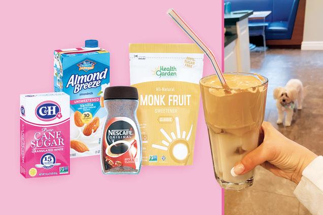 Hungry Girl's Healthy 100-Calorie Dalgona Coffee Recipe