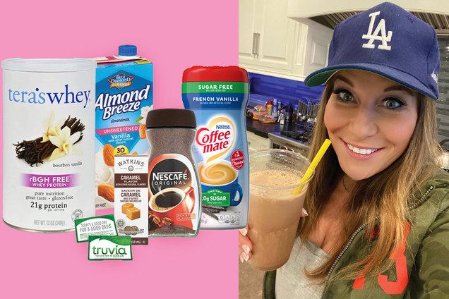 Hungry Girl's Healthy Caramel Vanilla Protein Swappuccino Recipe