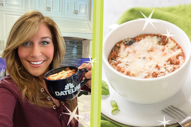 Hungry Girl's Healthy Naked Eggplant Parm in a Mug Recipe