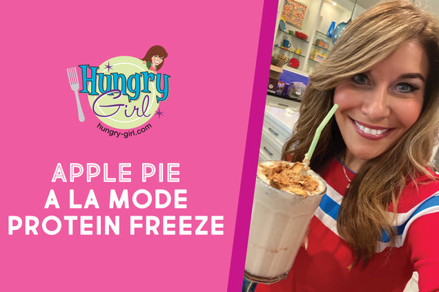 Apple Pie a la Mode Protein Freeze