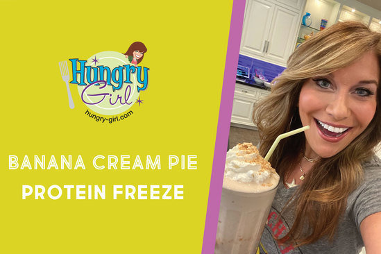 Banana Cream Pie Protein Freeze