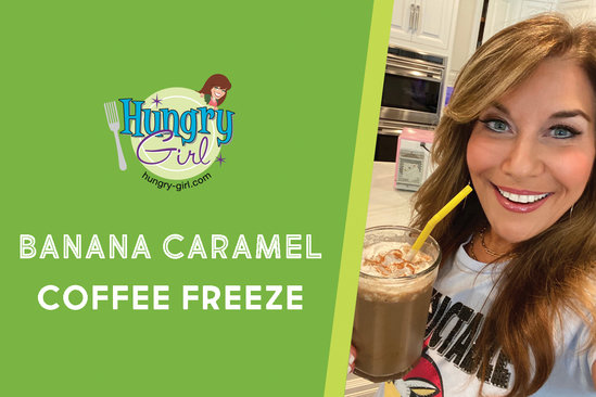 Banana Caramel Coffee Freeze