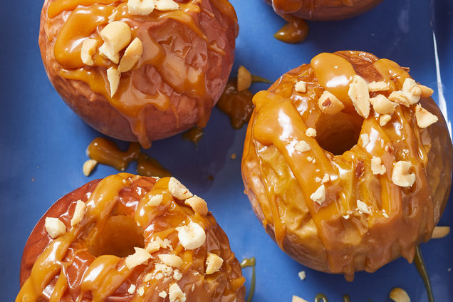 Hungry Girl's Healthy Baked Caramel Apples Recipe