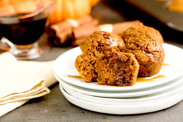 Hungry Girl's Healthy Pumpkin Spice Pancake Poppers Recipe