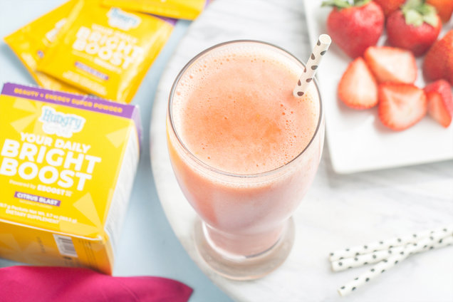 Hungry Girl's Healthy Strawberry Sunshine Power Boost Recipe