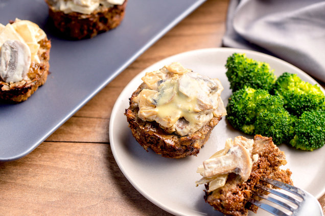 Hungry Girl's Healthy Swedish Meatloaf Minis Recipe