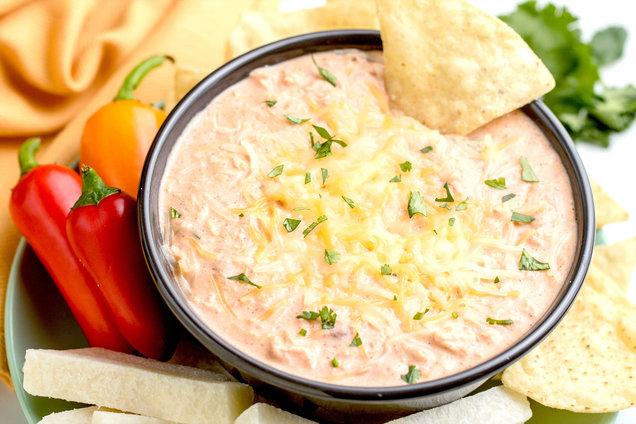 Hungry Girl's Healthy Chicken Enchilada Dip Recipe