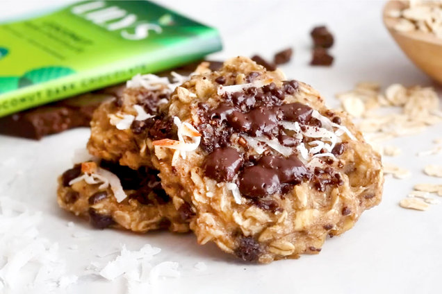 Hungry Girl's Healthy Tropical Chunky Monkey Cookies Recipe