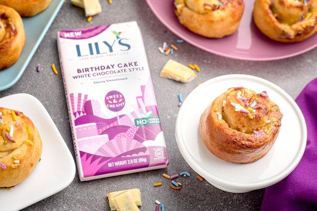 Hungry Girl's Healthy Birthday Cake Sweet Rolls Recipe