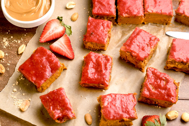 Hungry Girl's Healthy PB&J Fudge Recipe