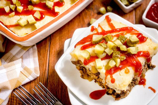 Hungry Girl's Healthy Cheeseburger Casserole Recipe