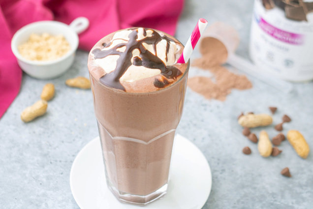 Hungry Girl's Healthy Peanut Butter Cup Protein Freeze Recipe