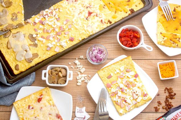 Hungry Girl's Healthy Easy Egg Flattata Recipe