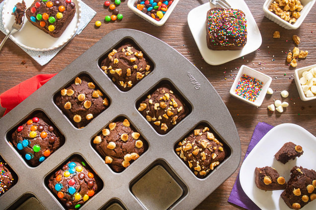 Hungry Girl's Healthy Yum Yum Brownie Bars Recipe