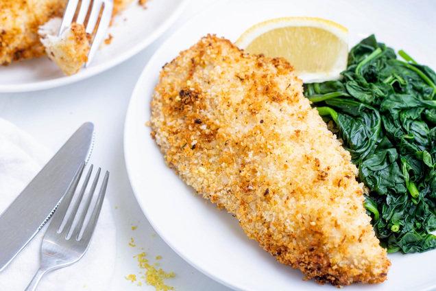 Hungry Girl's Healthy Crispy Lemon Garlic Chicken Recipe