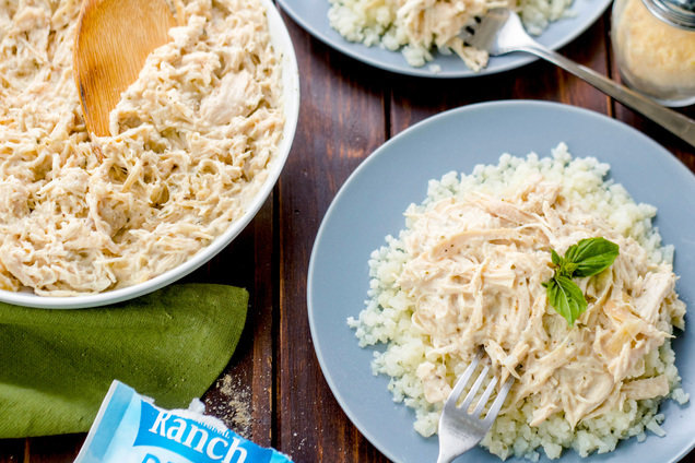 Hungry Girl's Healthy Slow-Cooker Creamy Ranch Chicken Recipe