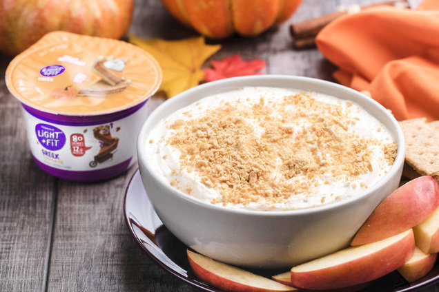 Hungry Girl's Healthy Fluffy Pumpkin Pie Dip Recipe