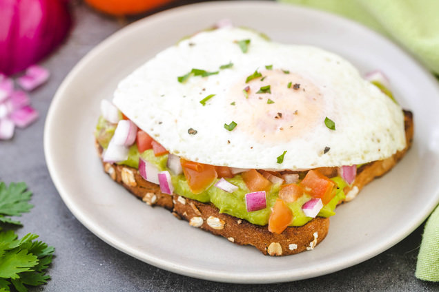 Hungry Girl's Healthy Guacamole Toast Breakfast Hack Recipe