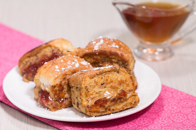 PB&J French Toast Nuggets