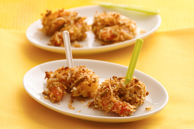 Sweet Coconut Crunch Shrimp