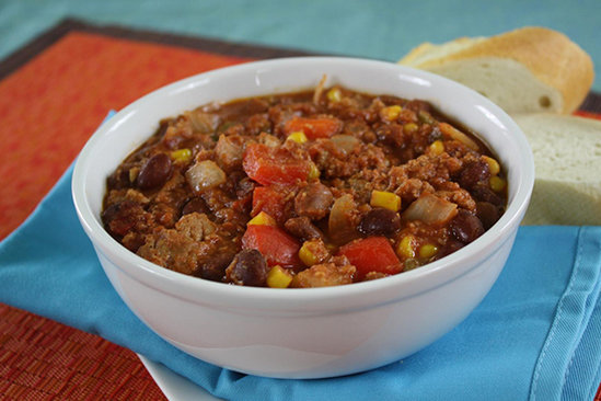 EZ as 1-2-3-Alarm Turkey Chili
