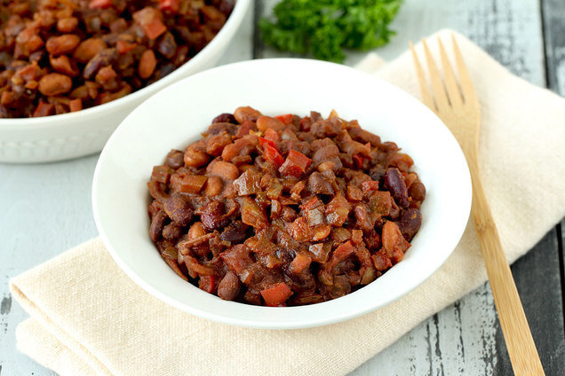 Slow-Cooker Fake-Baked Beans