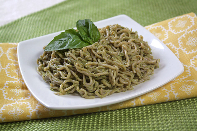 Simply the Pesto Spaghetti