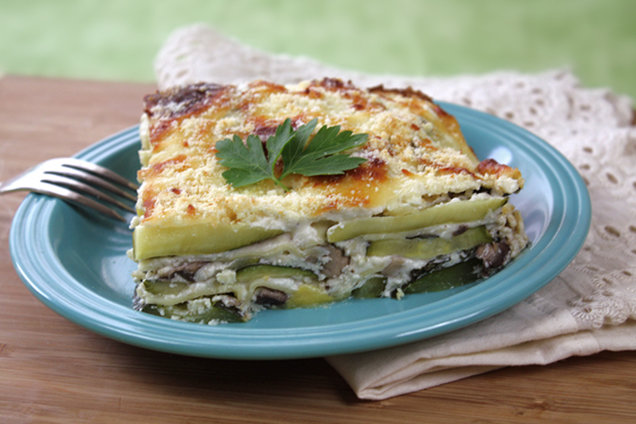 Hungry Girl's Healthy Hungry Girlfredo White Lasagna Recipe
