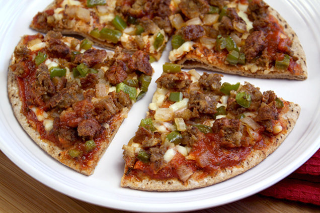 Sausage-Topped Pizza Swap