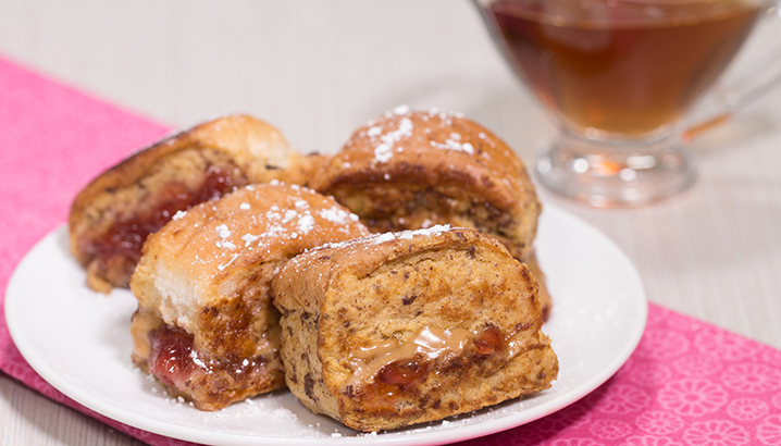 Hungry-Girl Video: PB&J French Toast Nuggets