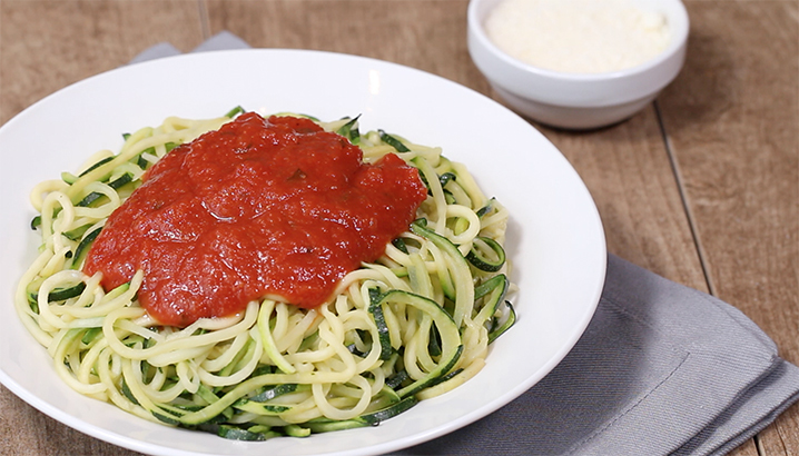 Hungry-Girl Video: How to Make Zucchini Noodles (The Ultimate Pasta Swap!)