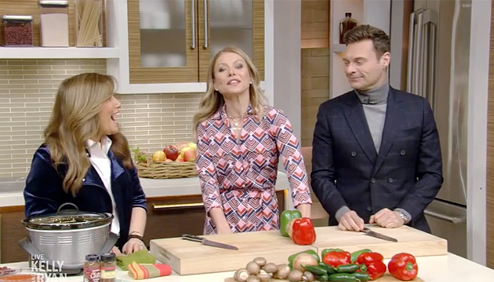 Hungry-Girl Video: Lisa on Live: LIVE with Kelly and Ryan
