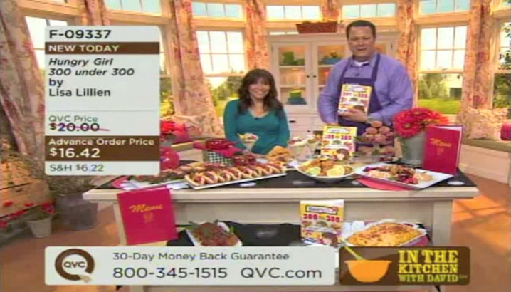 Hungry-Girl Video: QVC: In The Kitchen with David (March 2011)