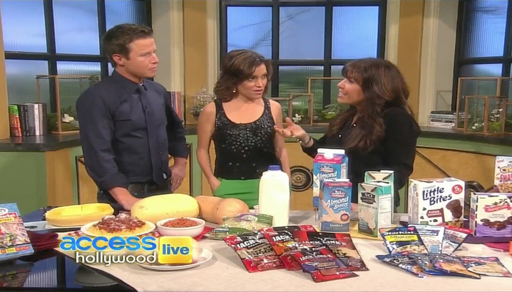 Hungry-Girl Video: Access Hollywood Live (January 2012)