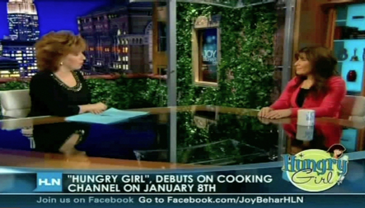 Hungry-Girl Video: The Joy Behar Show (January 2011)
