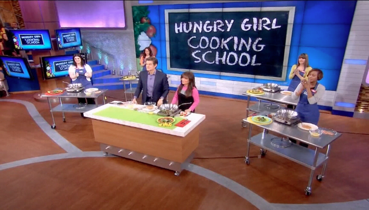 Hungry-Girl Video: The Dr. Oz Show (March 2012)