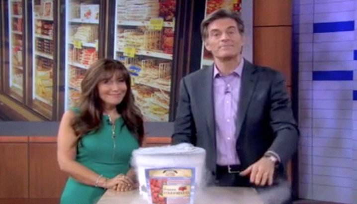 Hungry-Girl Video: The Dr. Oz. Show (May 2013)