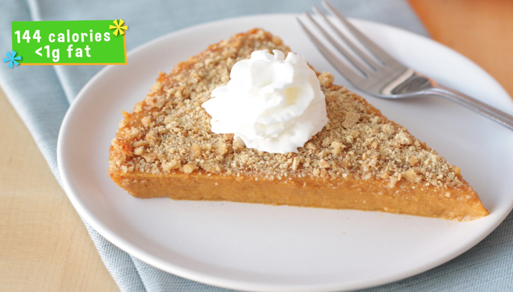 Hungry-Girl Video: How To... Make Upside Down Pumpkin Pie