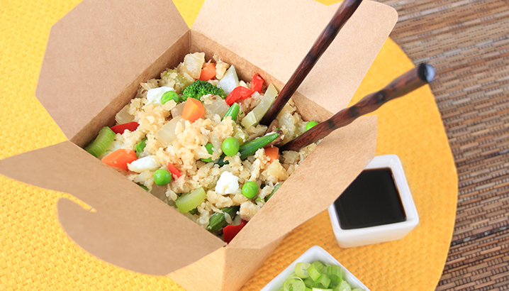 Hungry-Girl Video: Cauliflower Fried Rice